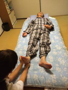 1.解剖学的ゼロポイントに身体の位置を整える